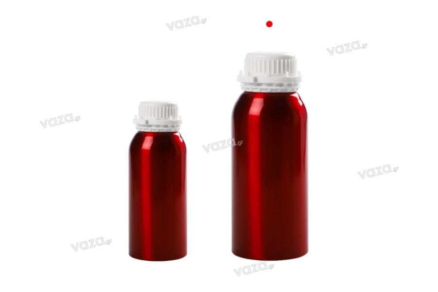 Bouteille en aluminium de 1000 ml pour stocker des essences, des parfums et des solutions avec alcool