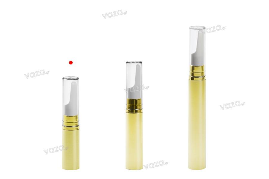Flacon Airless de 5 ml pour sérum à corps coloré et à couvercle