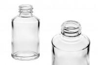 Flacon en verre de 200 ml avec bec PP28