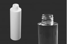 Μπουκάλι 150 ml, πλαστικό σε λευκό ή διάφανο χρώμα (PP24)