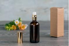 Αντλία αλουμινίου για κρέμα PP18 με αλουμινένιο ολόκληρο καπάκι - σε 2 χρώματα (ασημί και χρυσό γυαλιστερό)