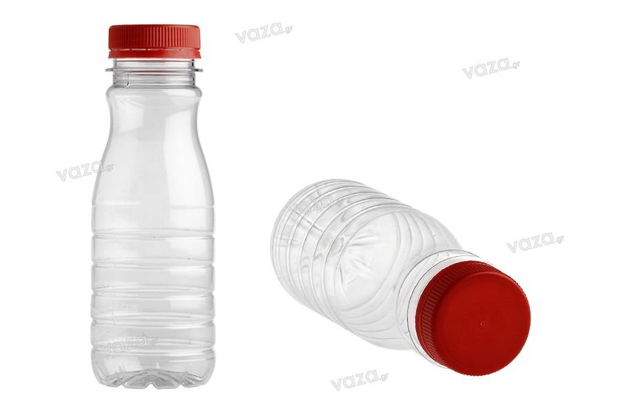 Μπουκάλι πλαστικό (PET) 250 ml διάφανο - συσκευασία των 200 τεμαχίων