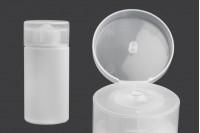 Bouteille en plastique pour shampoing de 140 ml -111x48