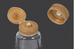 Μπουκάλι πλαστικό διάφανο 350 ml για κέτσαπ, μουστάρδα, μέλι - 10 τμχ