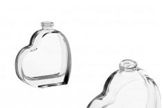 Flacon en verre de 30ml à la forme de cœur