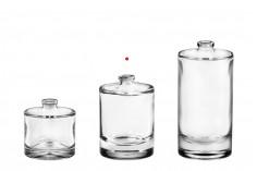Μπουκάλι αρωμάτων 50 ml στρογγυλό με κλείσιμο ασφαλείας ''Crimp'' 15 mm