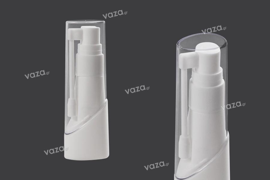Flacon avec pompe de pulvérisation locale ou buccale, utilisation pharmaceutique – lot de 12 pièces