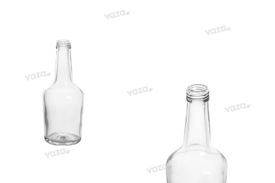 Μπουκάλι γυάλινο 103 ml διάφανο