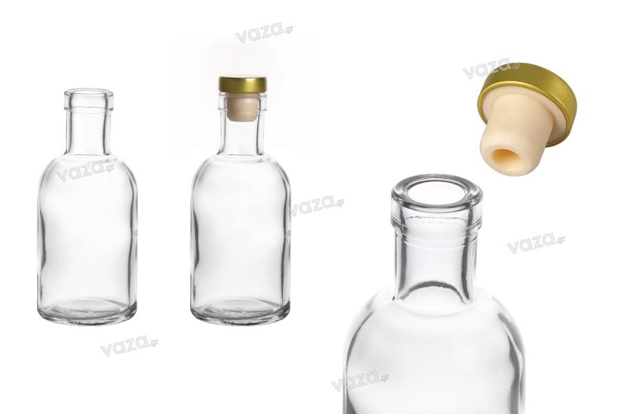 Μπουκάλι 105 ml γυάλινο, διάφανο