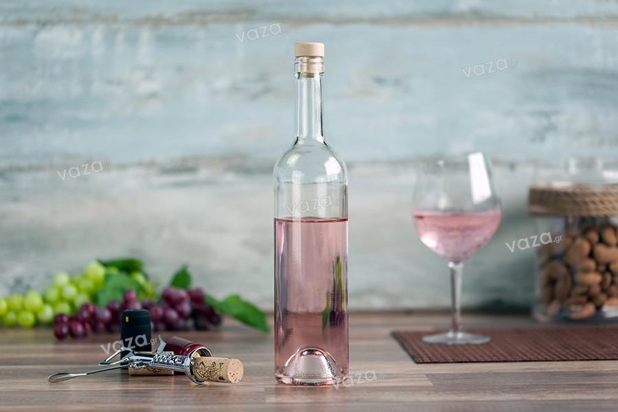 Διάφανο Μπουκάλι για κρασί 750 ml Europea 18.3 mm