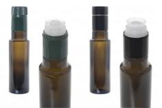 Μπουκάλι γυάλινο Uvag για ελαιόλαδο και ξύδι 100 ml με λαιμό για πώμα ασφαλείας 1031/47 (τύπου Guala)