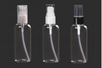 Μπουκάλι 100 ml πλαστικό (PET) με αντλία - 12 τμχ