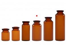 Μπουκαλάκι 15 ml γυάλινο, καραμελέ για φάρμακα και ομοιοπαθητικά - 12 τμχ