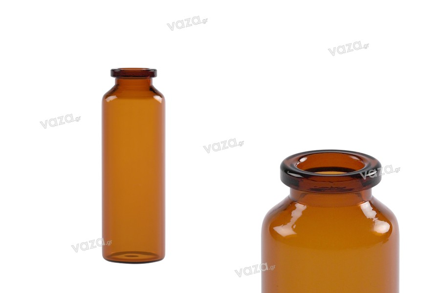 Μπουκαλάκι 30 ml γυάλινο, καραμελέ για φάρμακα και ομοιοπαθητικά - 12 τμχ