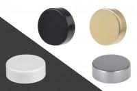 Bouchon en plastique GPi 33/400 avec revêtement en aluminium idéal pour parfums en différentes couleurs