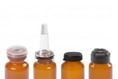 Μπουκαλάκι 20 ml γυάλινο, καραμελέ για φάρμακα και ομοιοπαθητικά - 12 τμχ