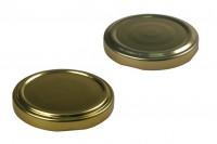 Καπάκι Τ.Ο. 58 χρυσό με φλιπ ή χωρίς - 20 τμχ