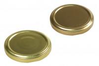 Καπάκι Τ.Ο. 63 χρυσό με φλιπ ή χωρίς - 20 τμχ