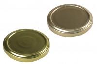 Καπάκι Τ.Ο. 66 χρυσό με φλιπ ή χωρίς - 20 τμχ