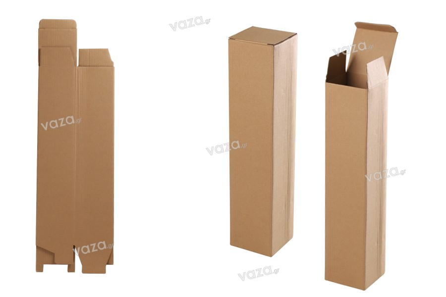 Boîte en papier kraft 82x80x372 mm - 20 pièces