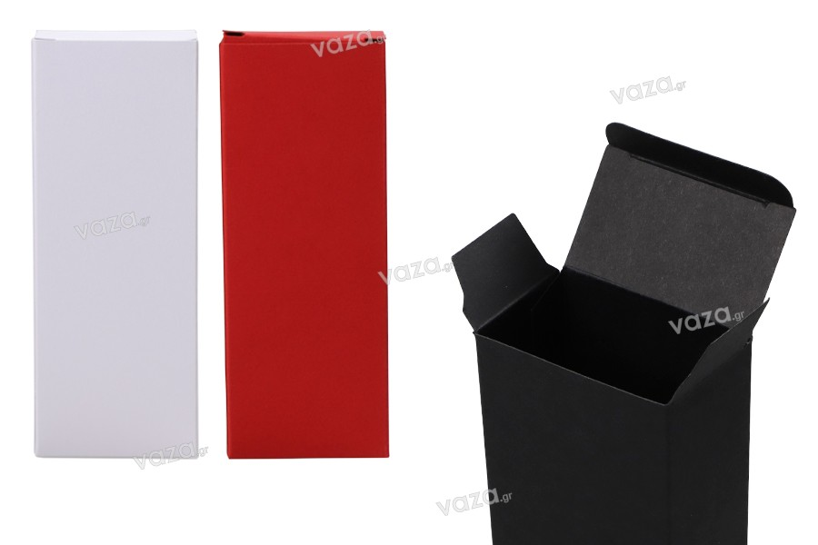 Κουτί για μπουκαλάκια αρωμάτων 50 ml με διαστάσεις 53x32x140 σε χρώματα ΜΑΤ