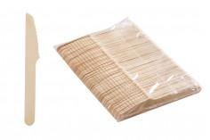 Μαχαιράκια ξύλινα 140 mm - 100 τμχ