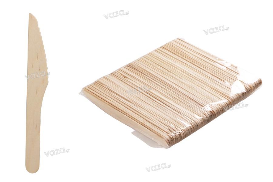 Μαχαιράκια ξύλινα 160 mm - 100 τμχ