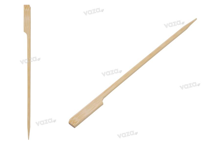 Ξυλάκια - καλαμάκια bamboo 180 mm με λαβή για catering και εδέσματα - 200 τμχ