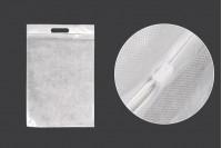 Σακουλάκια 300x450 mm πλαστικά (PE) με φερμουάρ - 100 τμχ