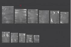 Σακουλάκια PE με φερμουάρ 400x500 mm - 50 τμχ