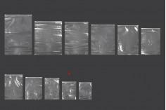 Σακουλάκια PE με φερμουάρ 200x250 mm - 50 τμχ