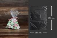 Σακουλάκια - φιλμ συρρίκνωσης (POF shrink) για την συσκευασία τροφίμων 180x250 mm - 100 τεμάχια