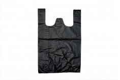 Σακούλα πλαστική 40x60 cm σε μαύρο χρώμα - 100 τμχ