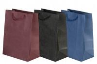Σακούλα χάρτινη με χερούλι 180x100x250 mm σε διάφορα χρώματα
