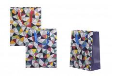 Σακούλα δώρου χάρτινη, πλαστικοποιημένη 260x120x320 - 12 τμχ