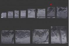 Σακουλάκια διαφανή με αυτοκόλλητο κλείσιμο 170x280 mm - 1000 τμχ