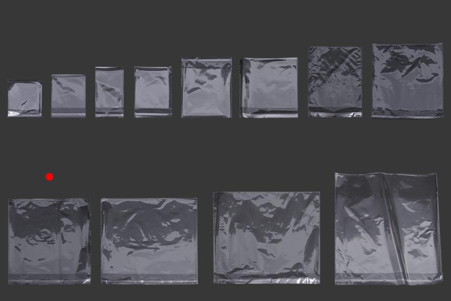 Σακουλάκια διαφανή με αυτοκόλλητο κλείσιμο 230x340 mm - 1000 τμχ