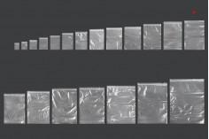 Σακουλάκια με κλείσιμο zip 170x250 mm διαφανή πλαστικά - 100 τμχ