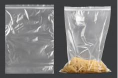 Σακουλάκια με κλείσιμο zip 250x355 mm διαφανή πλαστικά - 100 τμχ