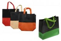 Sacs non tissés écologiques, recyclables et réutilisables, avec poignée et plastification extérieure matte- 270x110x320 mm - 50 pièces