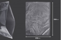 Σακούλες vacuum (κενού αέρος) 250x350 mm για συντήρηση - συσκευασία τροφίμων και άλλων προϊόντων - 100 τμχ