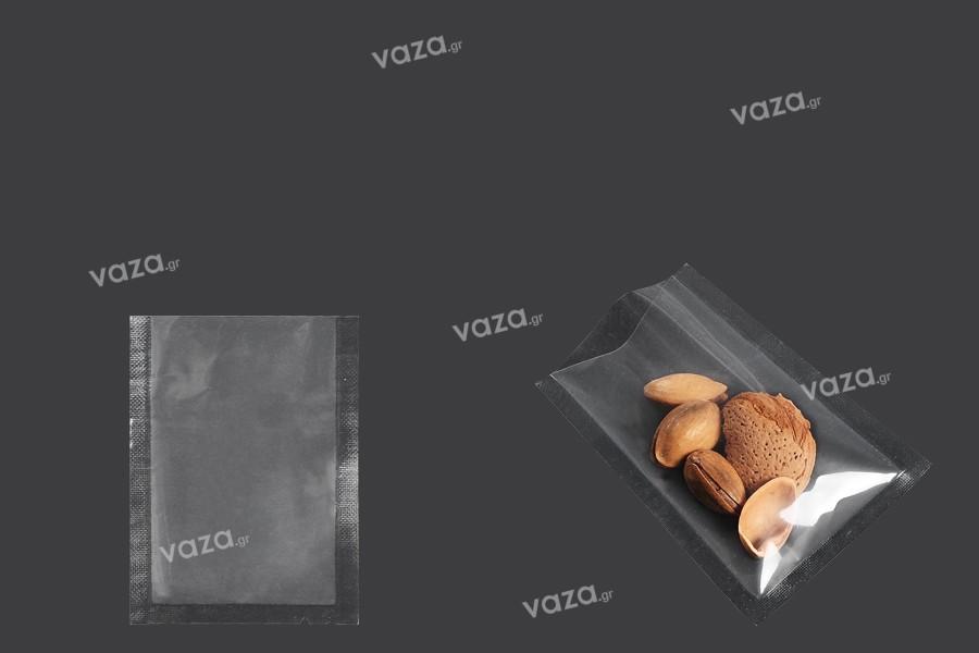 Σακούλες vacuum (κενού αέρος) για συντήρηση - συσκευασία τροφίμων και άλλων προϊόντων 60x80 mm - 200 τμχ
