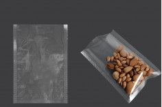 Σακούλες vacuum (κενού αέρος) για συντήρηση - συσκευασία τροφίμων και άλλων προϊόντων 150x220 mm - 100 τμχ