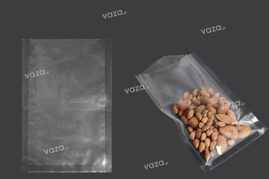 Σακούλες vacuum (κενού αέρος) για συντήρηση - συσκευασία τροφίμων και άλλων προϊόντων 160x240 mm - 100 τμχ