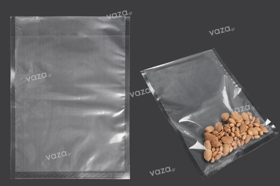 Σακούλες vacuum (κενού αέρος) για συντήρηση - συσκευασία τροφίμων και άλλων προϊόντων 280x380 mm - 100 τμχ