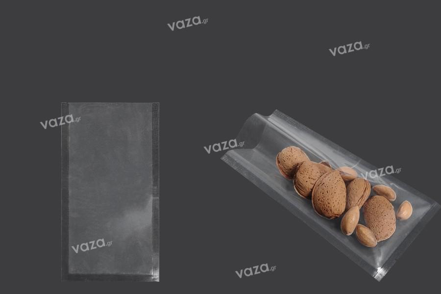 Σακούλες vacuum (κενού αέρος) για συντήρηση - συσκευασία τροφίμων και άλλων προϊόντων 80x150 mm - 100 τμχ