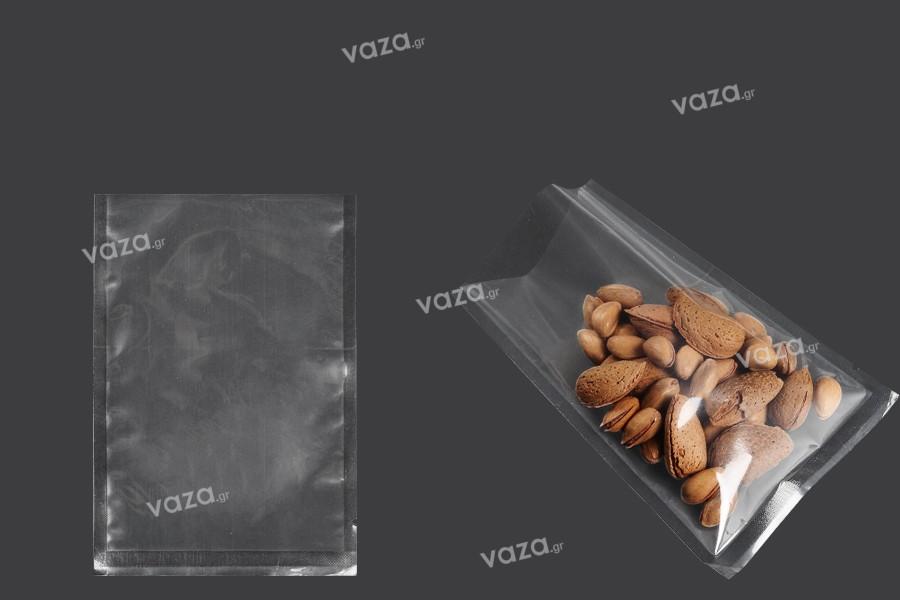 Σακούλες vacuum (κενού αέρος) για συντήρηση - συσκευασία τροφίμων και άλλων προϊόντων 110x160 mm - 100 τμχ