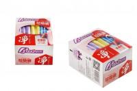 Sacs en plastique de 45 x 55 cm de différentes couleurs - pack de 72 unités