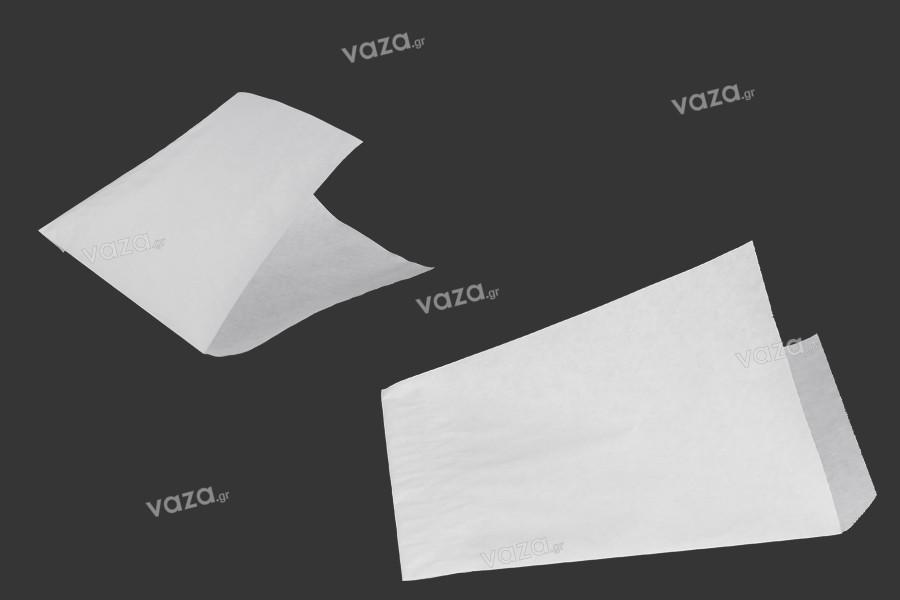 Σακούλα κραφτ λευκή γωνία με διαστάσεις 135x180mm - 1 κιλό