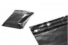 Σακουλάκια μεταφορών courier αδιάβροχα 380x520 mm μαύρα με αυτοκόλλητο κλείσιμο  - 100 τμχ